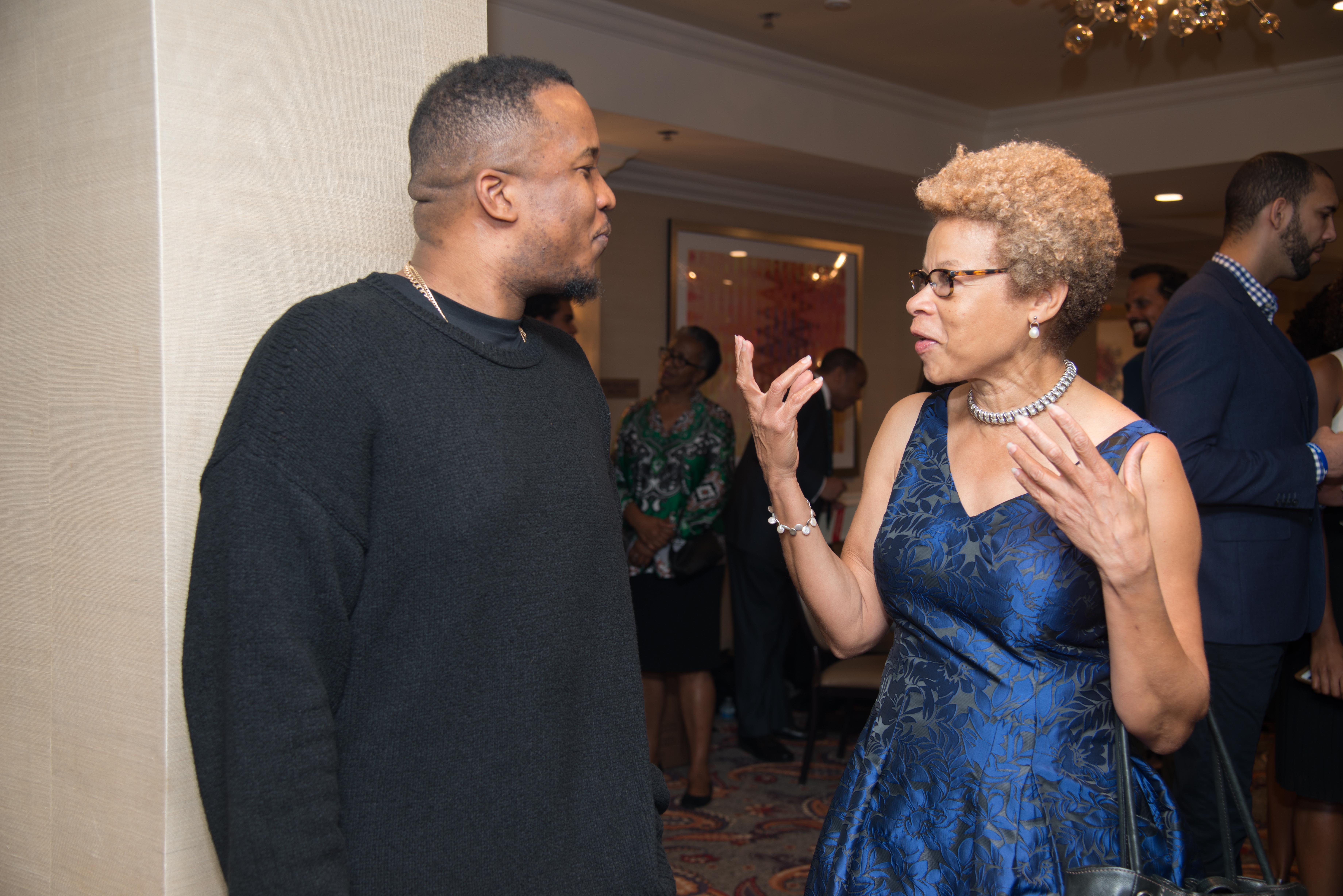 D. Watkins and Deborah Heard