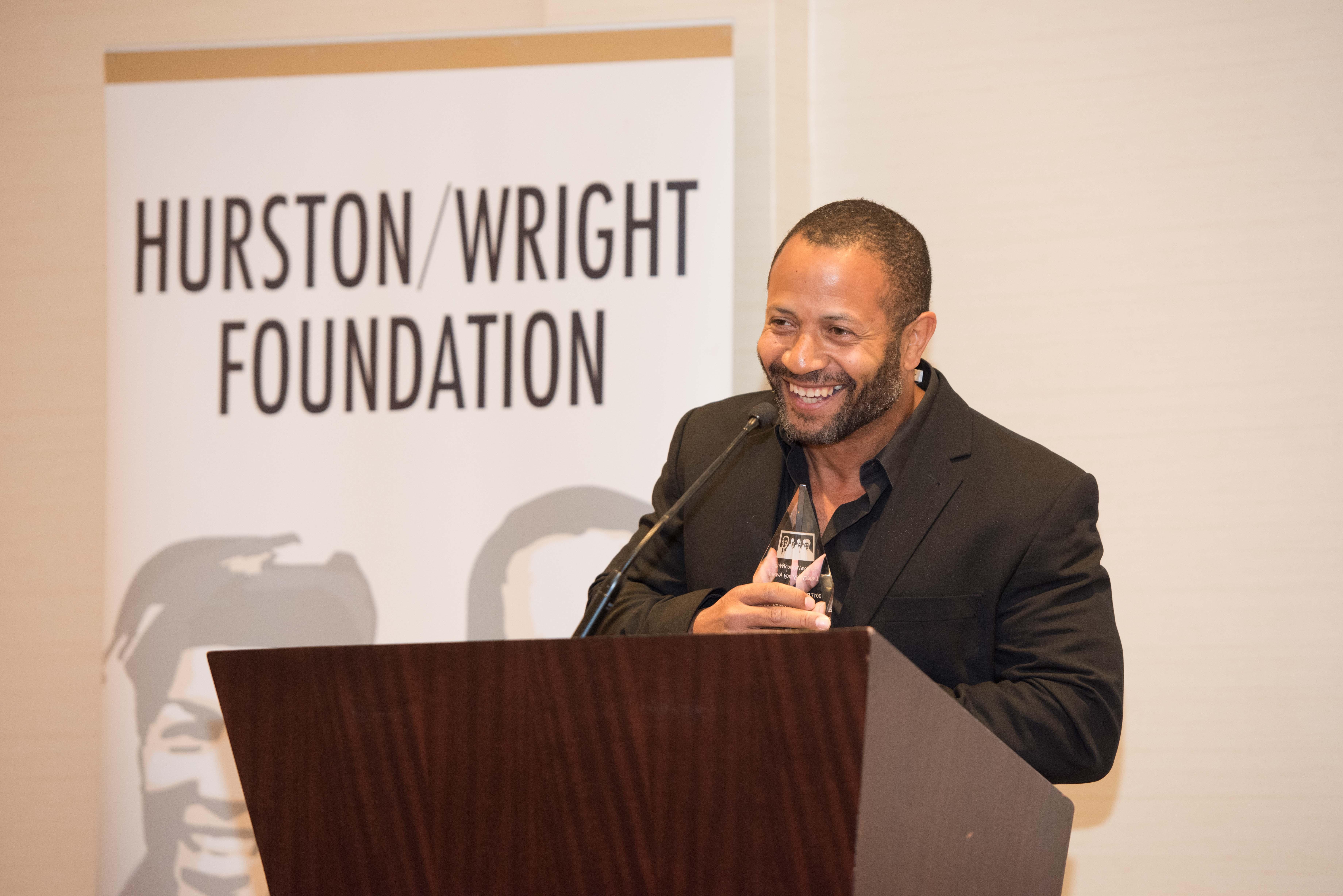 JJ Amaworo Wilson, debut fiction winner (credit Kea Taylor, Imagine Photography)