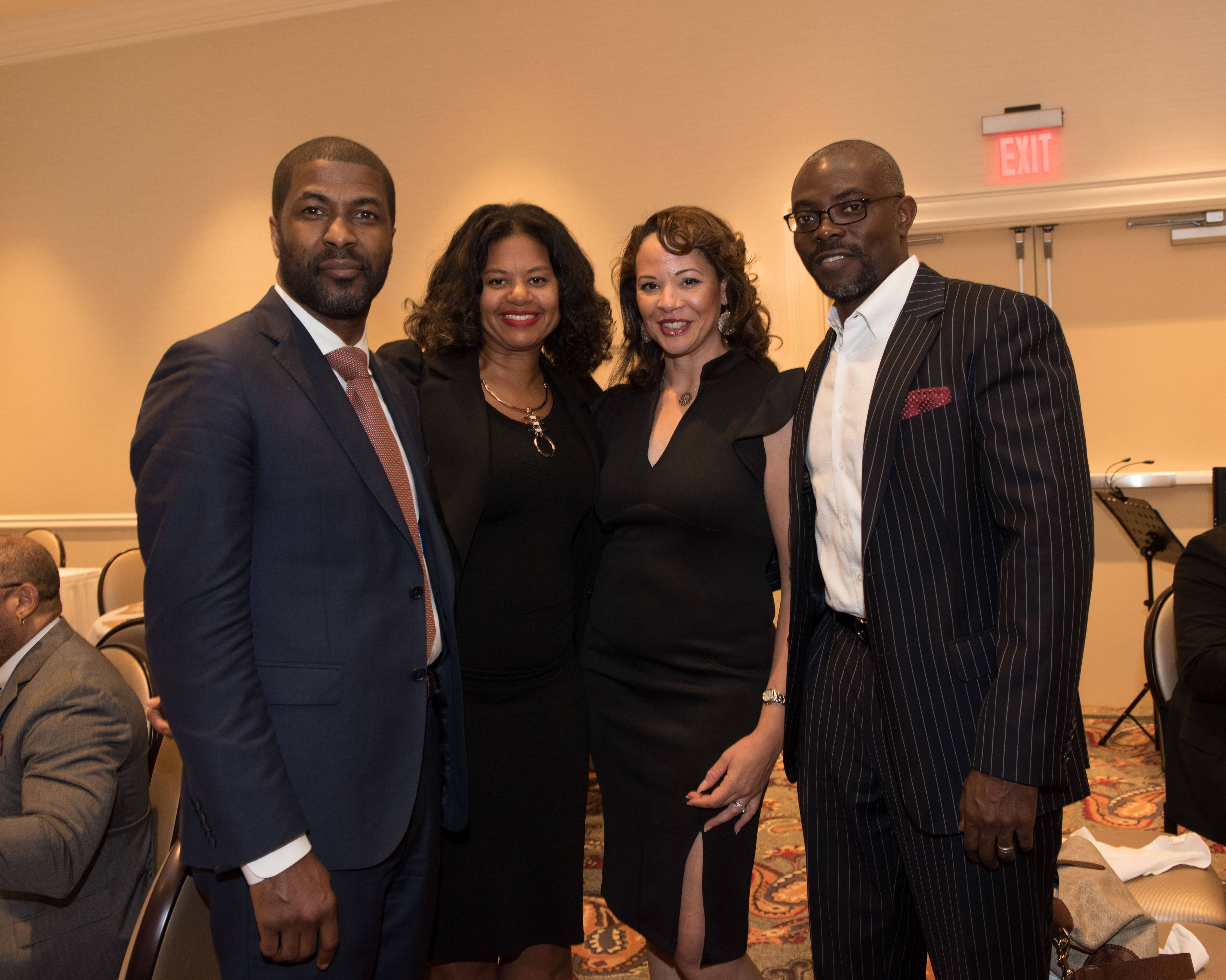 Simba Sana, Natalie Hopkinson, and co-hosts Nancy Brown and Lorenzo McRae